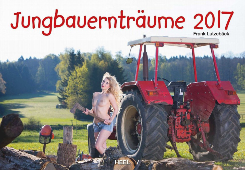The Jungbauerntraume calendar cover