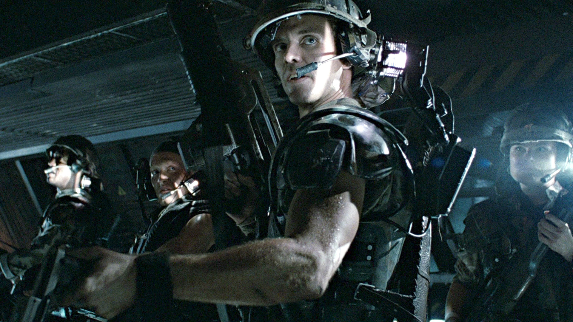 The 1986 classic Aliens.