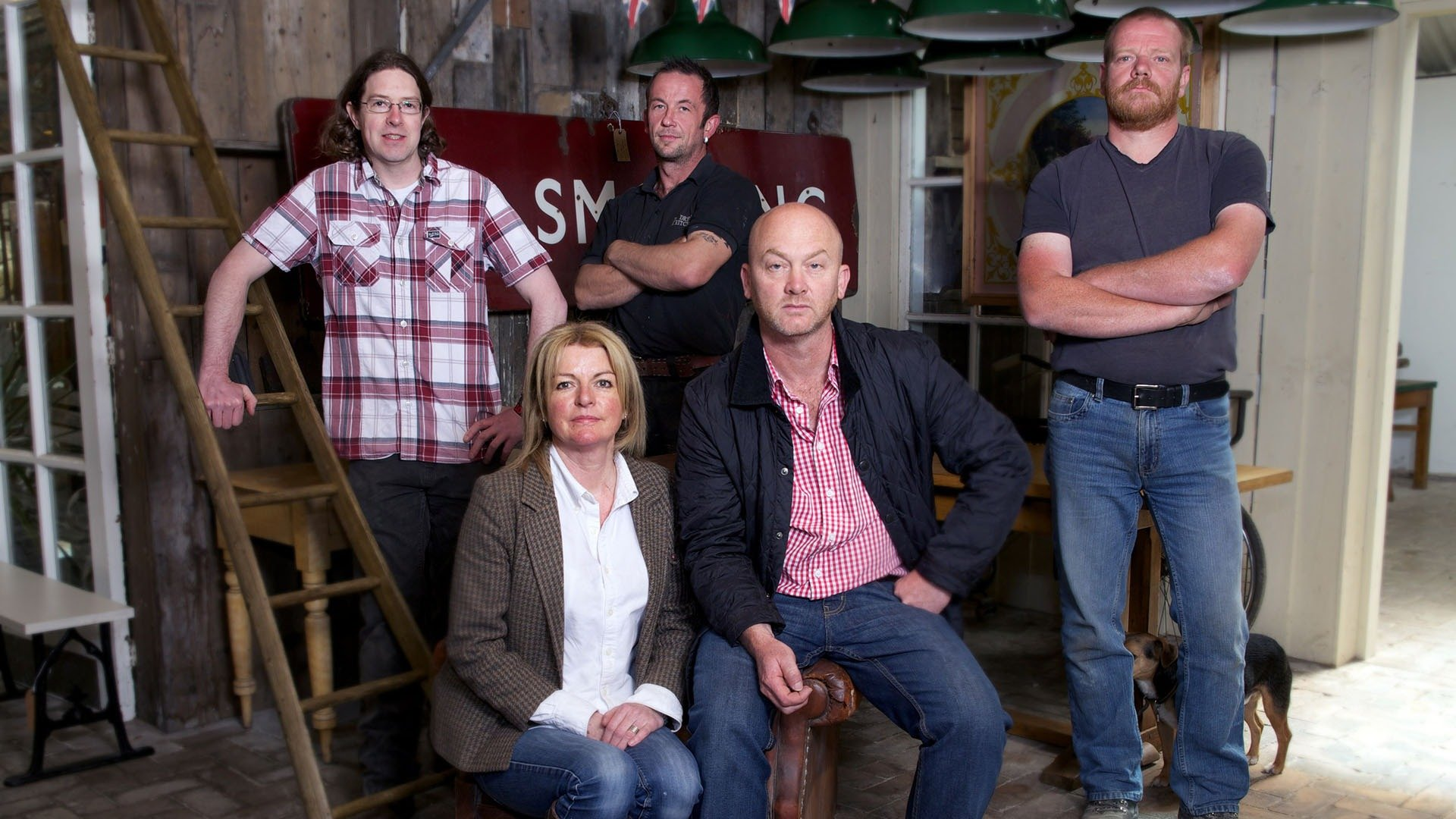 Drew Pritchard and the Salvage Hunters team.
