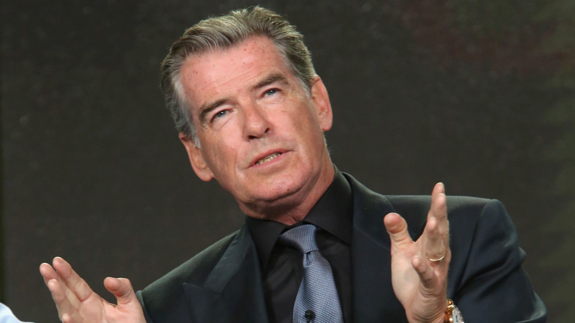 James Bond icon Pierce Brosnan.