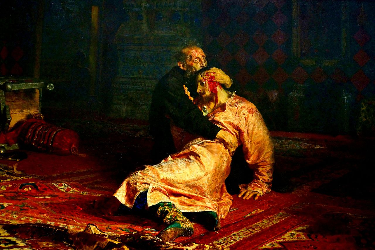 Painting by Ilya Repin