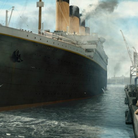 the titanic wasn�t sunk by an iceberg new evidence claims