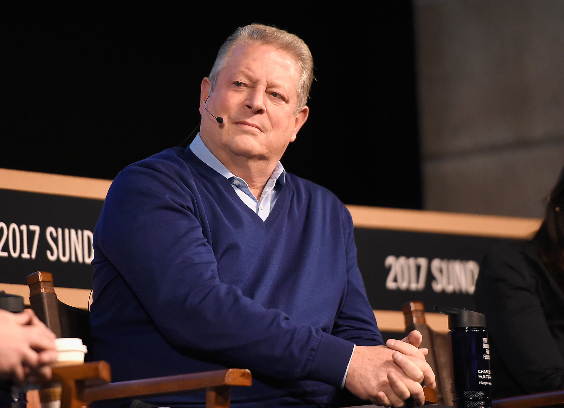 Al Gore is on a mission to halt climate change.
