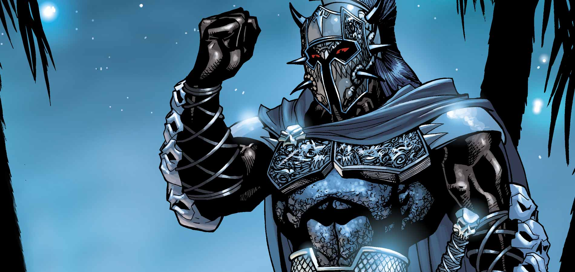 Ares in DC Comics.