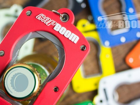 The Capboom bottle opener.