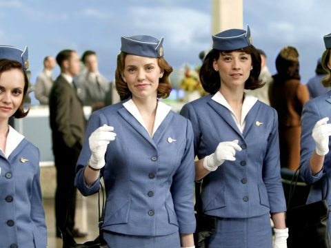 A group of fictional flight attendants.
