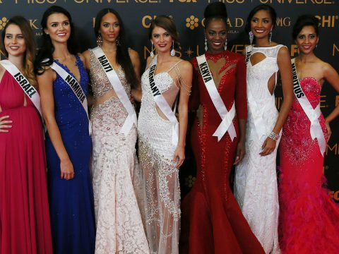 A picture from Miss Universe 2017.