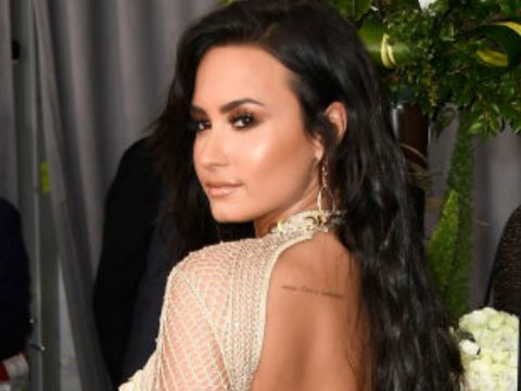 Demi-Lovato rocks the 'no underwear' trend