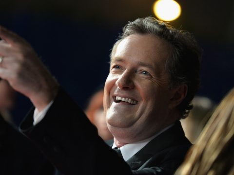Good Morning Britain host Piers Morgan.