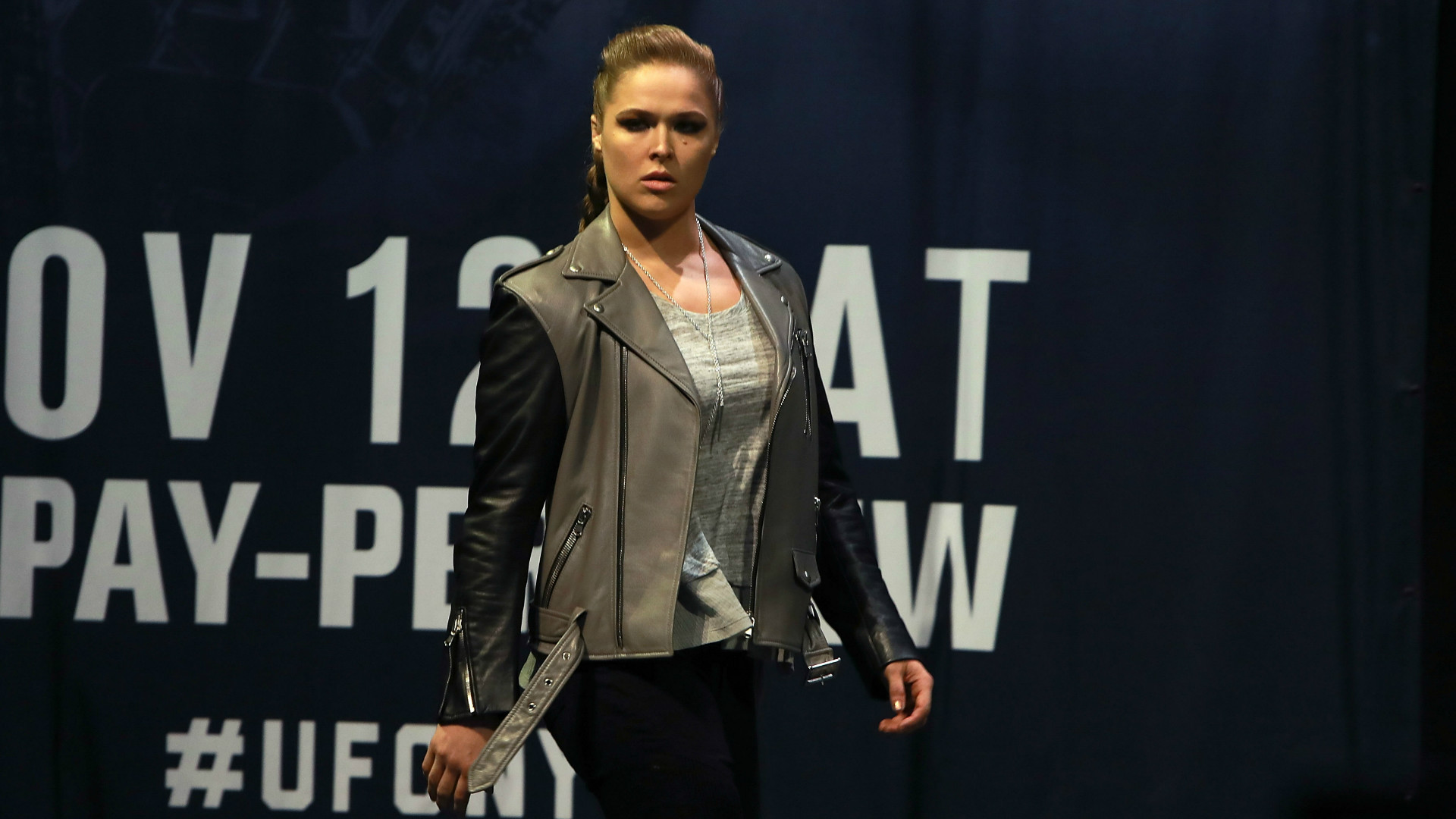 Rhonda Rousey in the UFC.