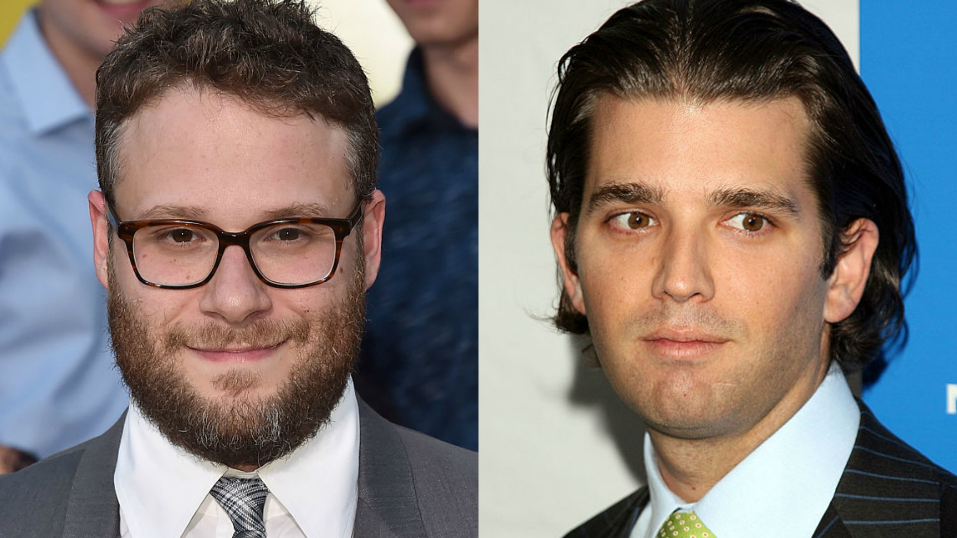 Seth Rogen vs Donald Trump Jr