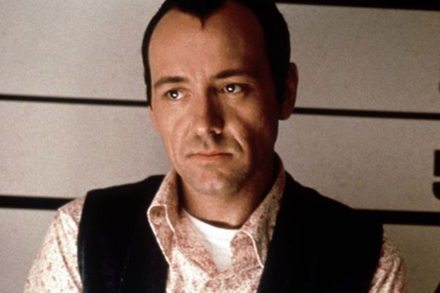 Kevin Spacey as Verbal Kint.