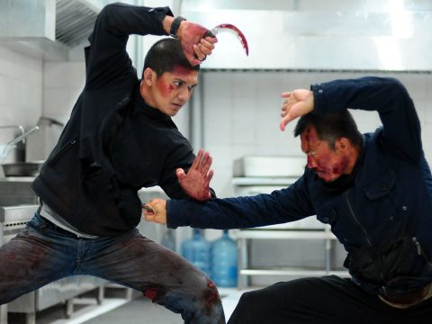 A still from The Raid