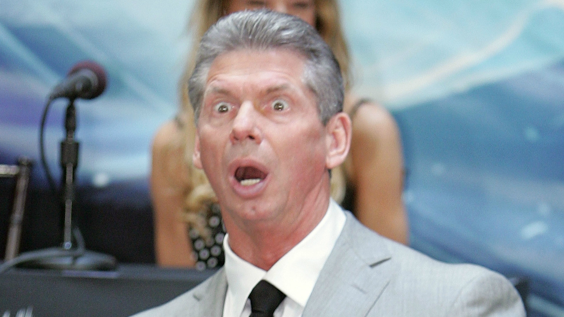 WWE's very own Vince McMahon.