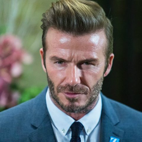 David Beckham paying tribute