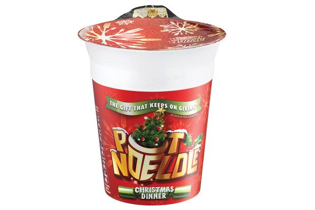 The Christmas Dinner pot noodle.
