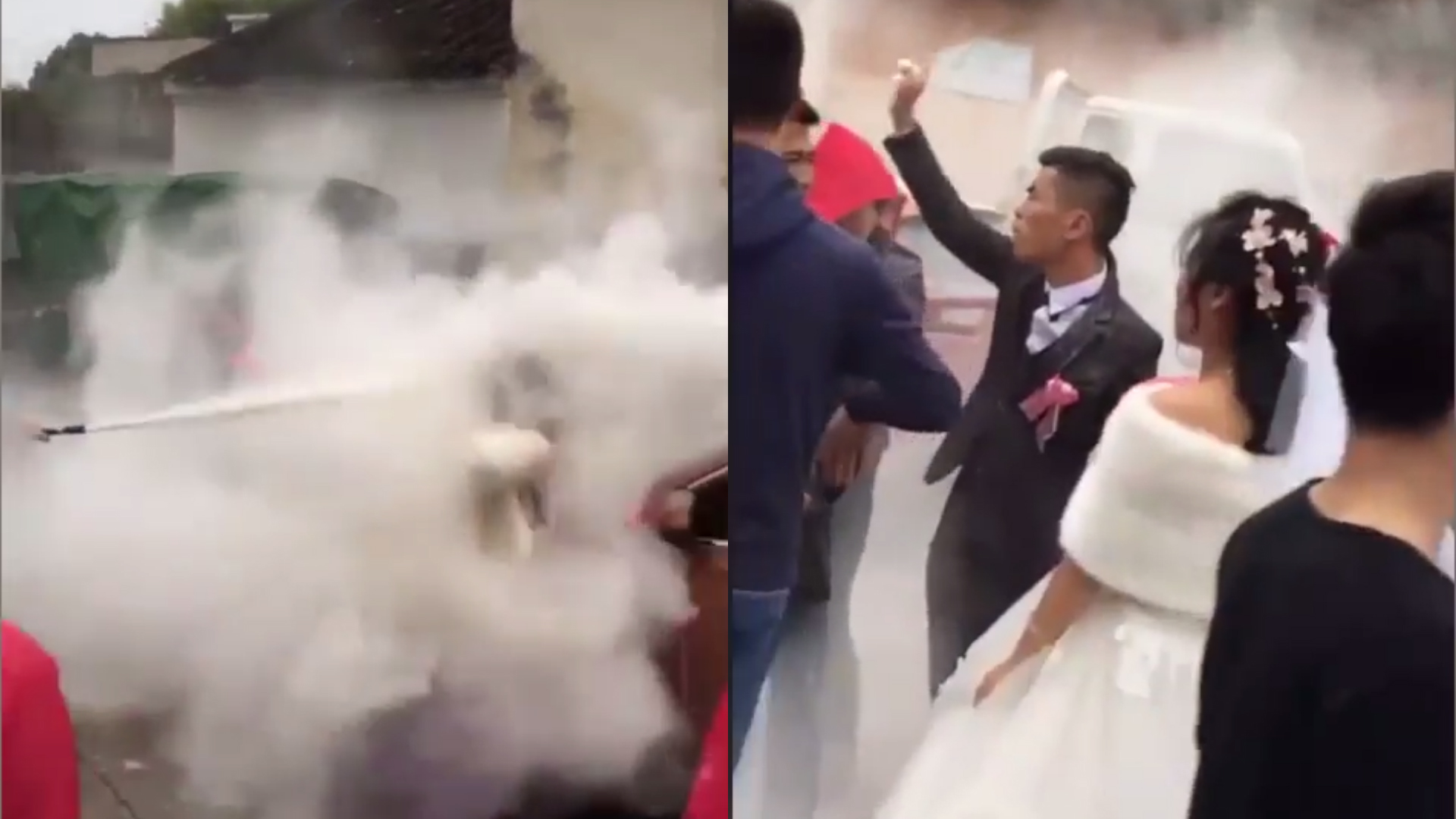 Wedding prank