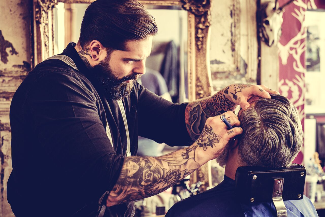 Tom Chapman's Lions Barber