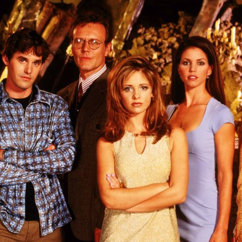 The original Buffy The Vampire Slayer cast.