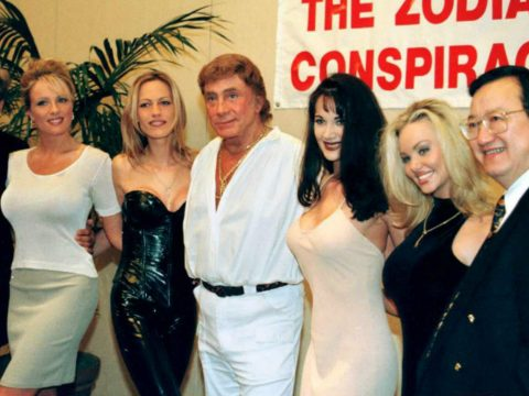Bob Guccione and the stars of Penthouse.