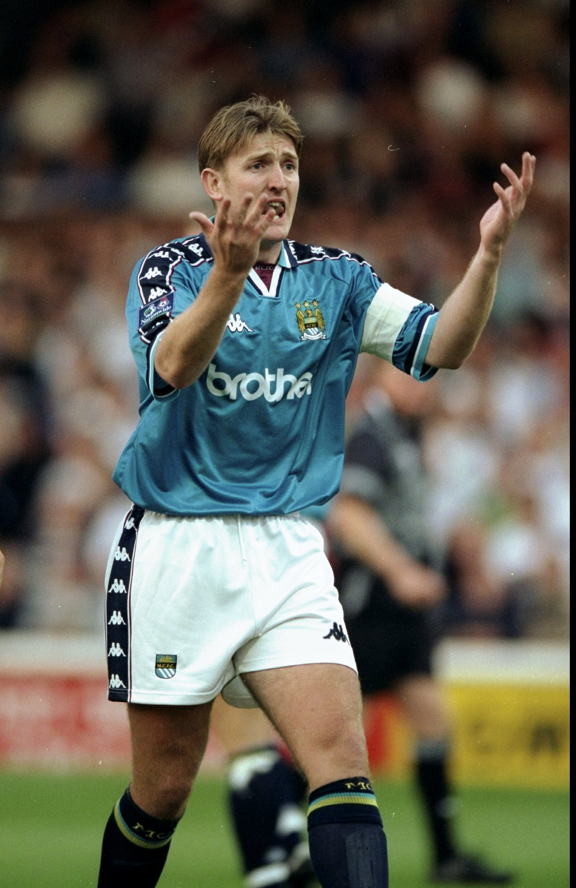 Jamie Pollock in Manchester City.