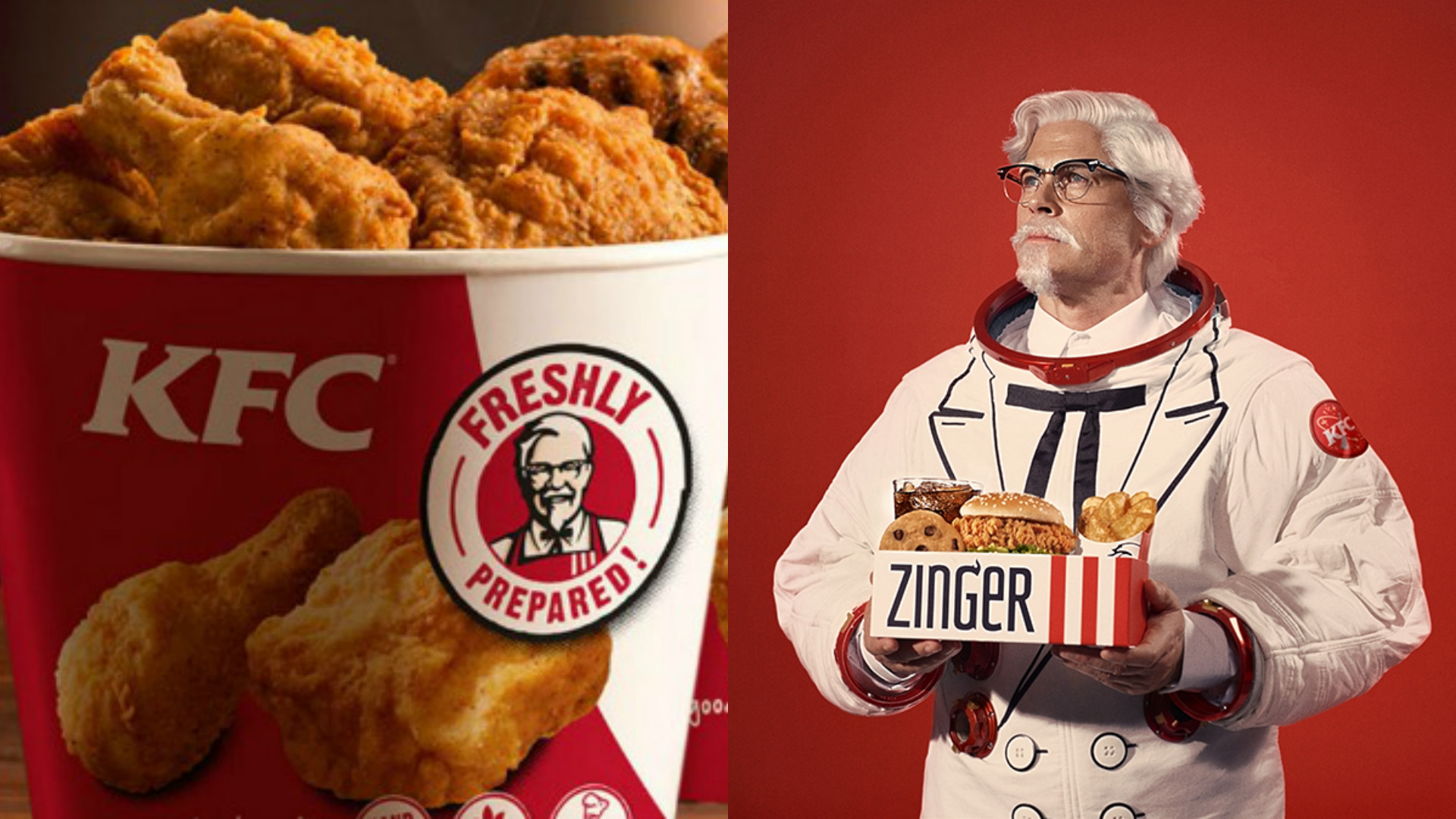 KFC is heading into space
