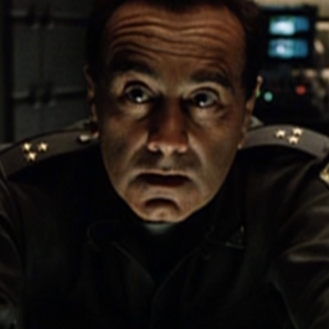 Dan Hedaya as General Martin Perez