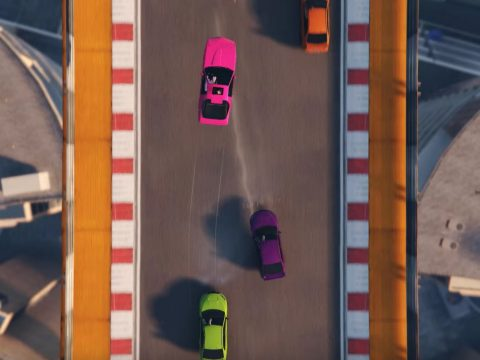 Micro Machines-inspired Grand Theft Auto game