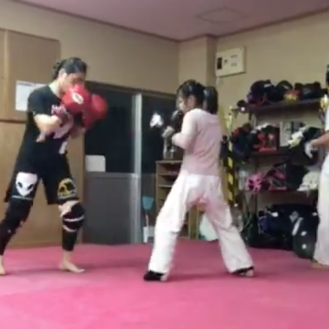 A 12-year-old MMA fighter