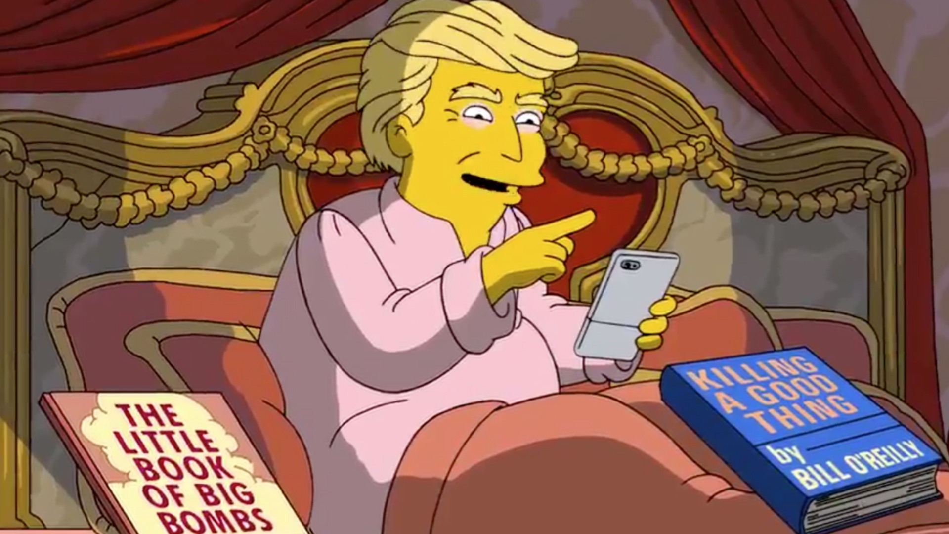 Donald Trump savaged by The simpsons