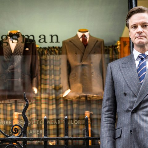 Colin Firth in Kingsman: The Secret Service.