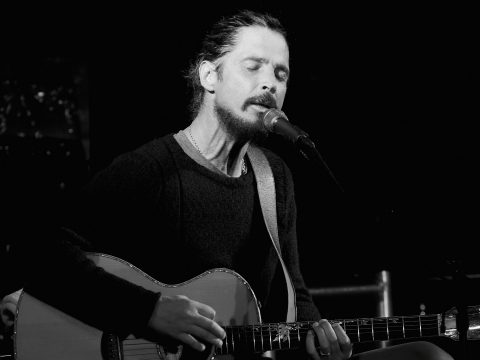 The late Audioslave and Soundgarden frontman Chris Cornell.