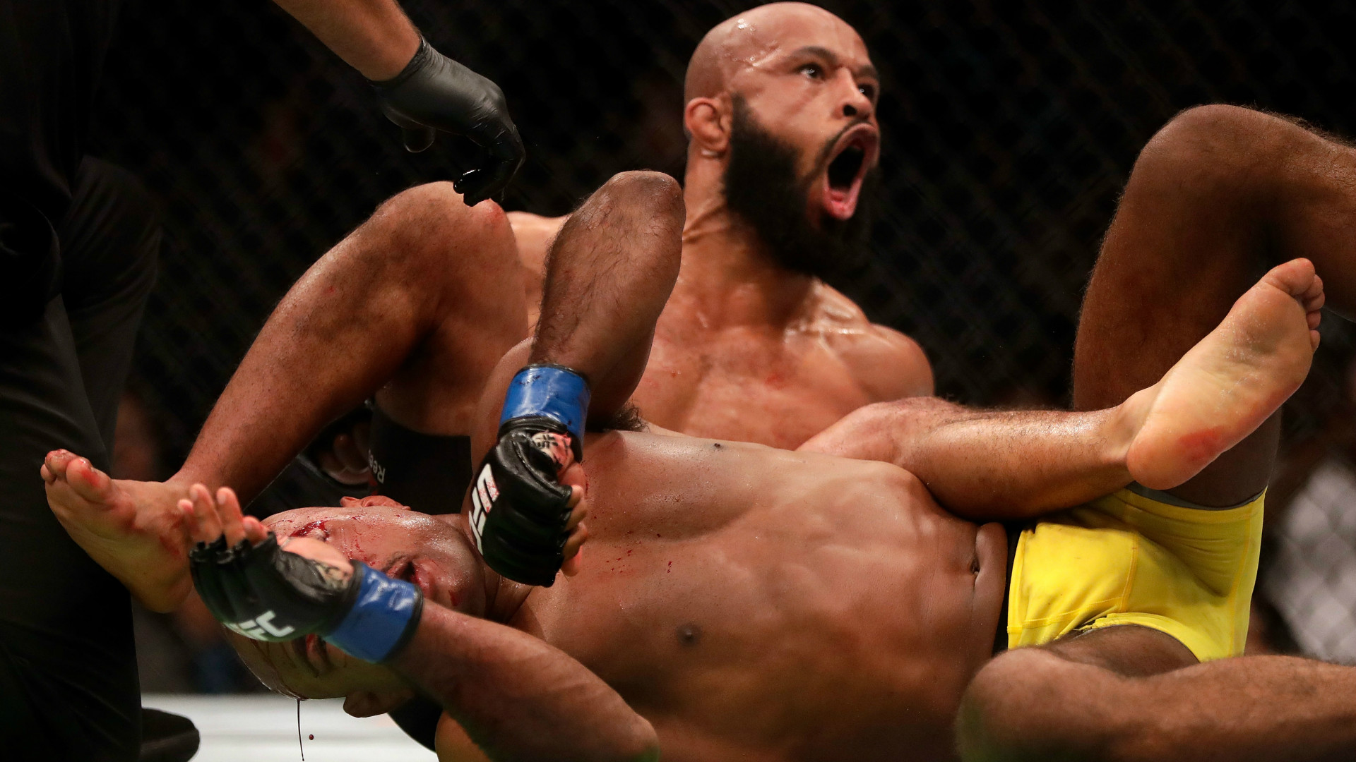UFC star Demetrius Johnson.