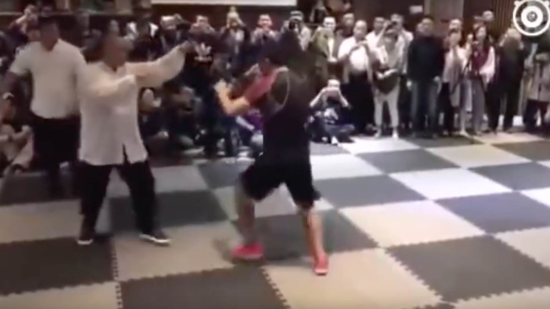 Tai Chi is no match for MMA