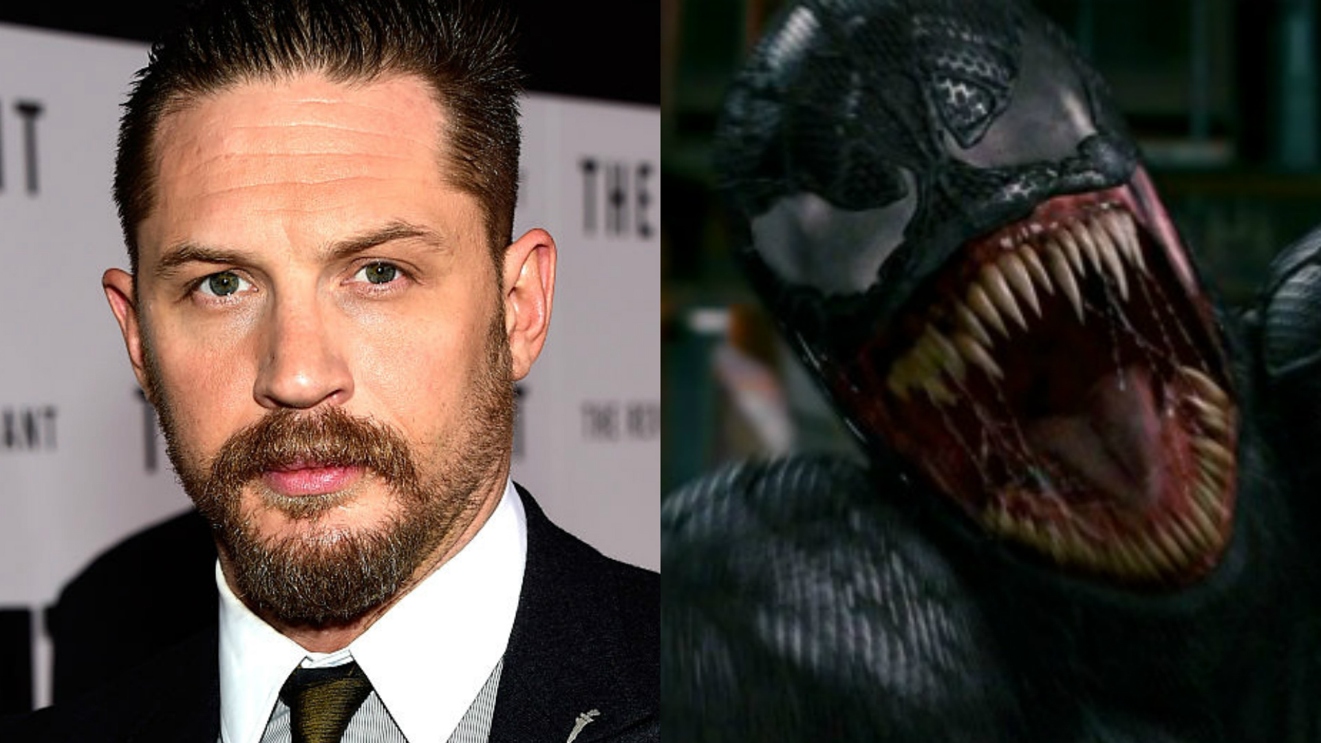 Tom Hardy and Venom