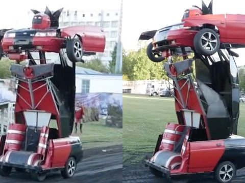 Real-Life Transformer