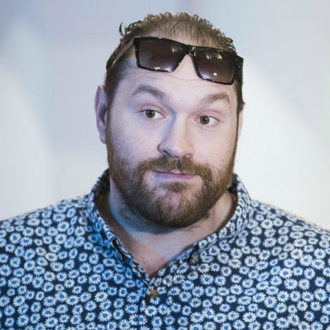 Tyson Fury on the road to recovery