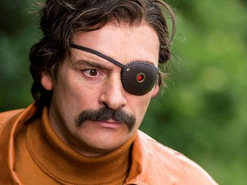 Julian Barratt as Mindhorn.