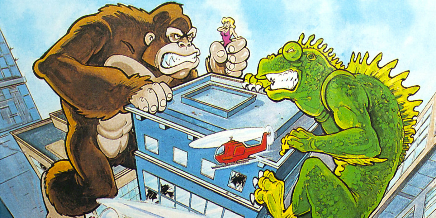 The arcade classic Rampage.