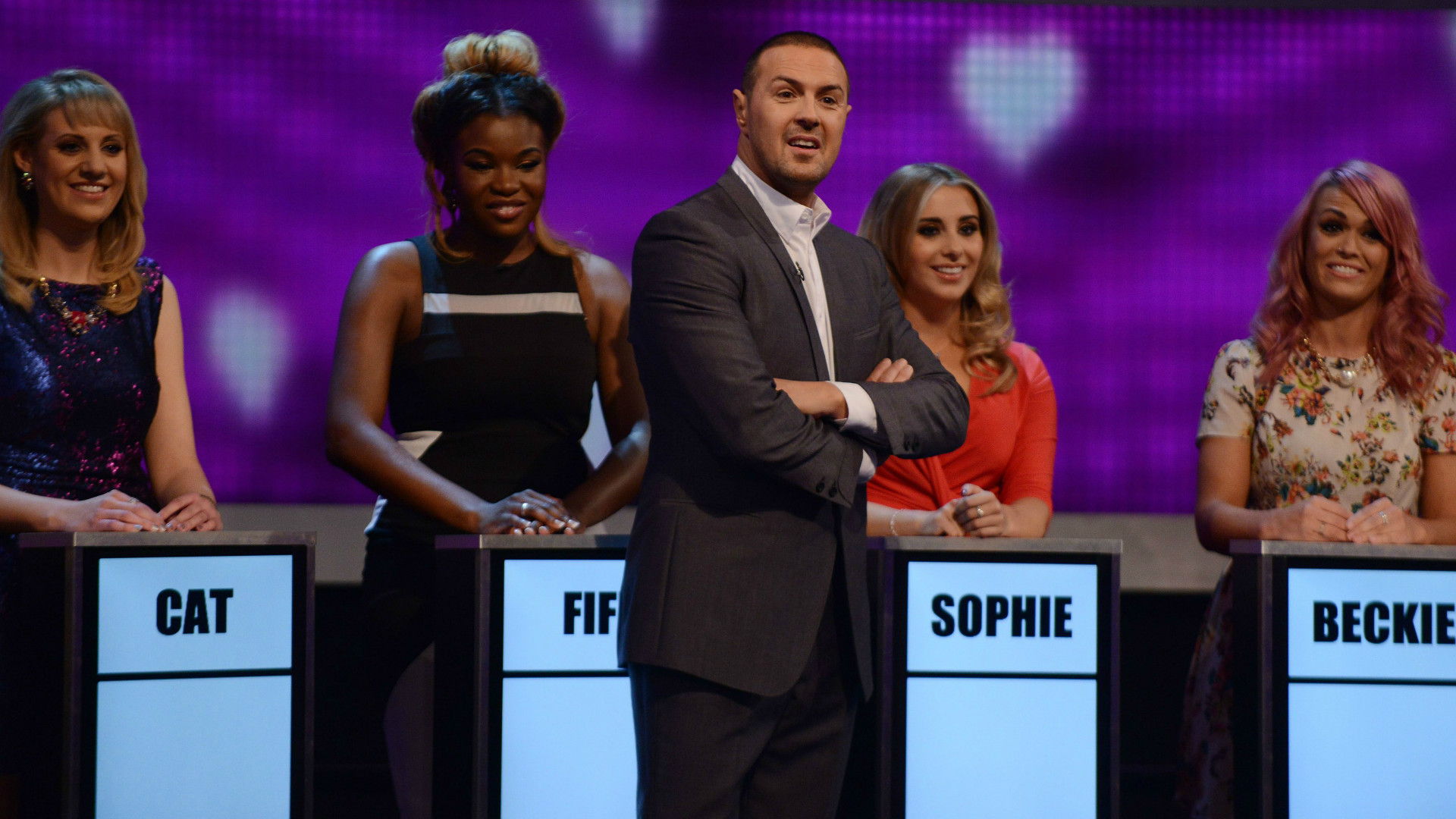 Paddy McGuinness on Take Me Out.