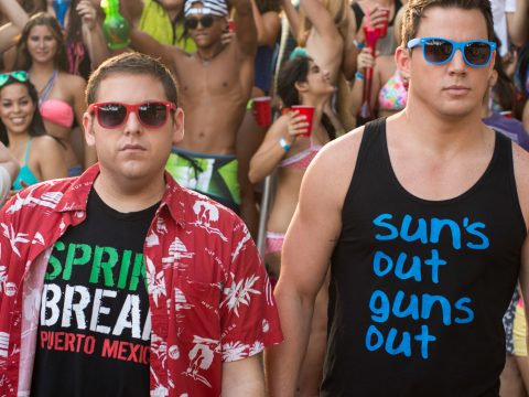 22 Jump Street with Jonah Hill and Channing Tatum.
