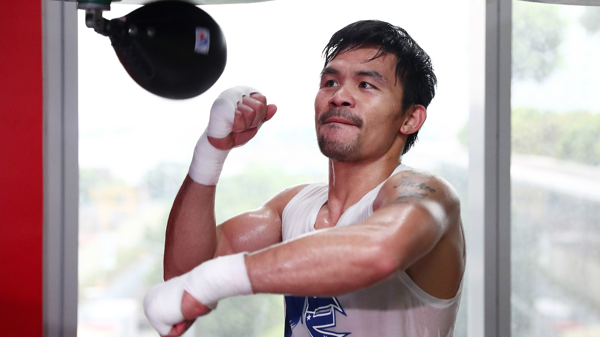 Manny Pacquaio the Filipino warrior.