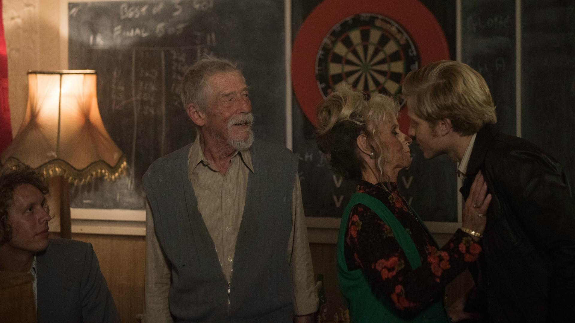 John Hurt in My Name Is Lenny.