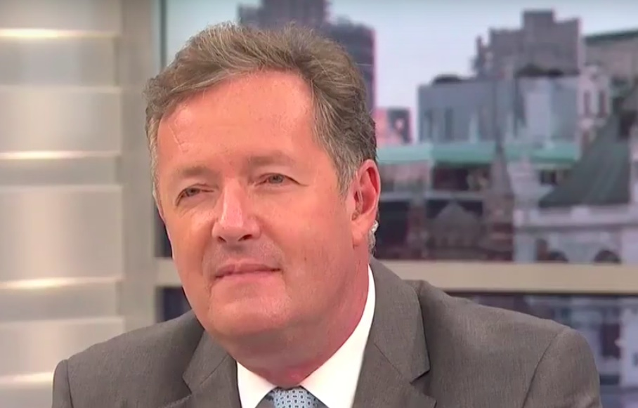 Piers Morgan reacts.