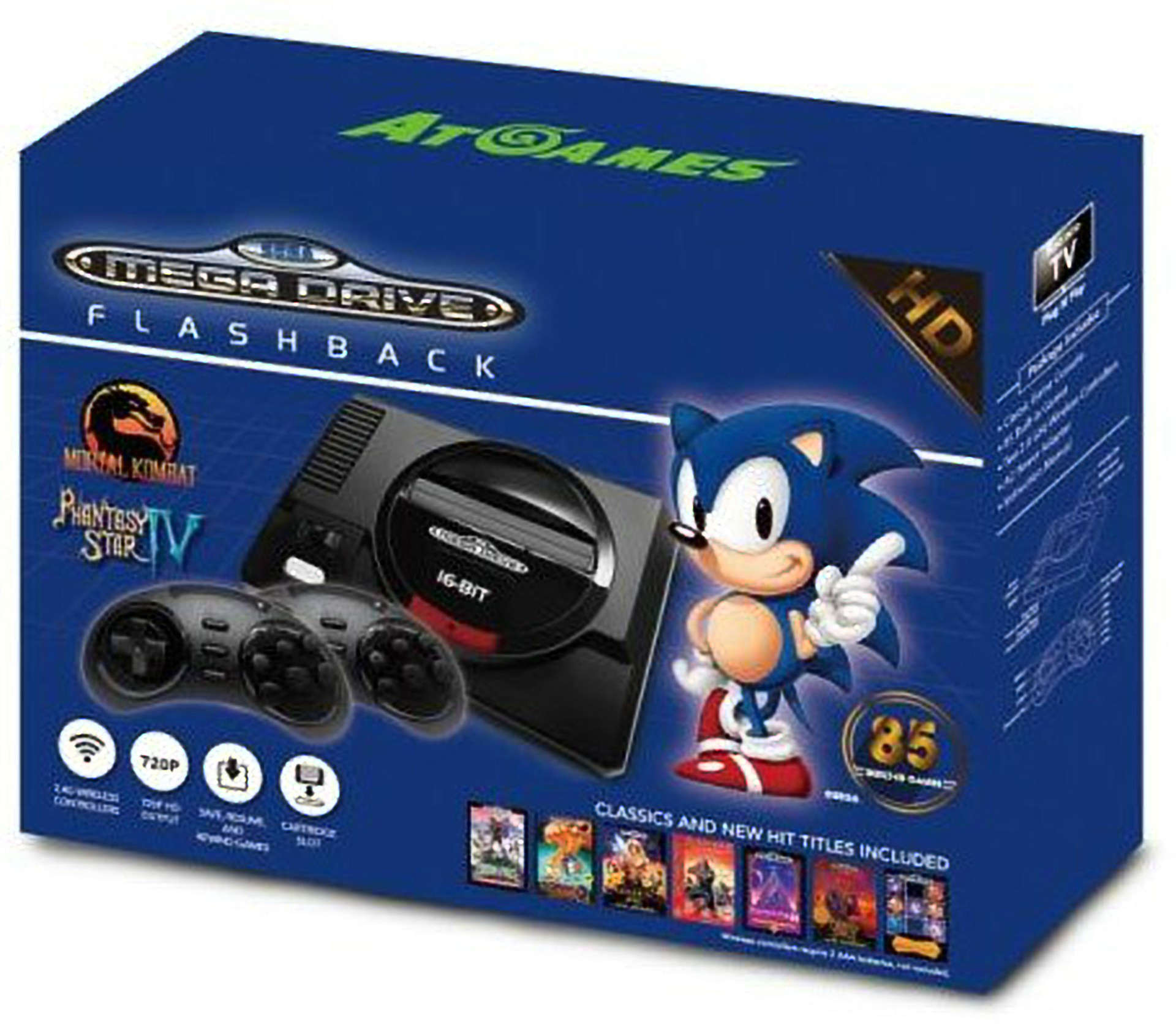 The return of the SEGA Genesis.