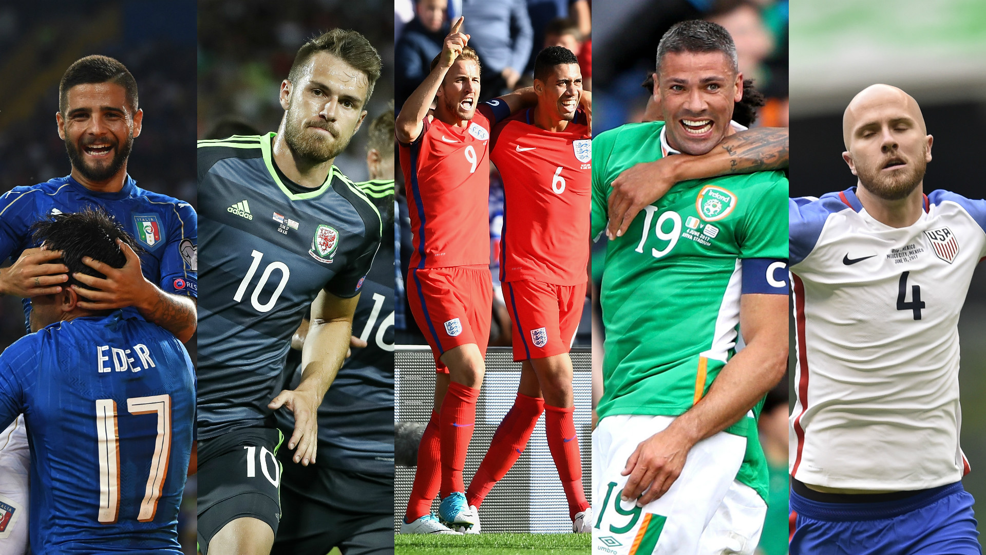 World Cup qualifying images.