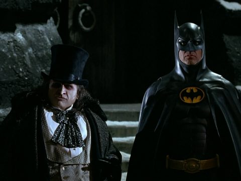 Danny DeVito and Michael Keaton.