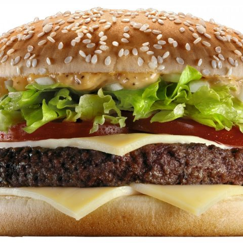 the Big tasty from McDonald's