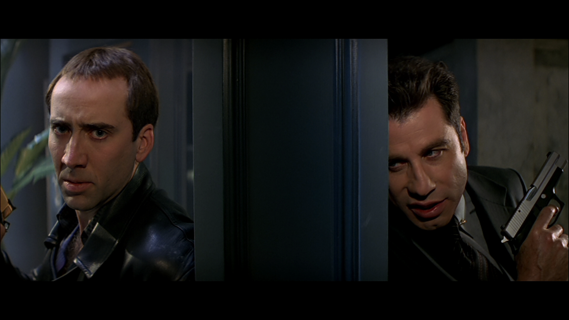 A scene from Face/Off.