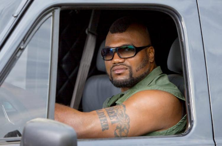 Rampage Jackson in the A-Team